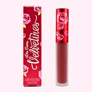 Lime Crime Velvetines Matte Lipstick Rustic Red